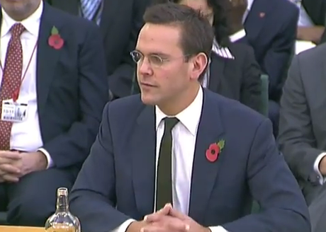 James Murdoch faces MPs' grilling, says The Sun could be closed