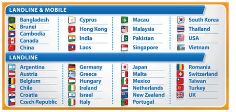 gotalk ultimiate bonus calls countries