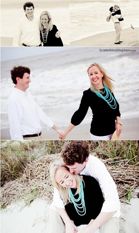 Kate & Andrew are engaged! // Sea Island Photographer