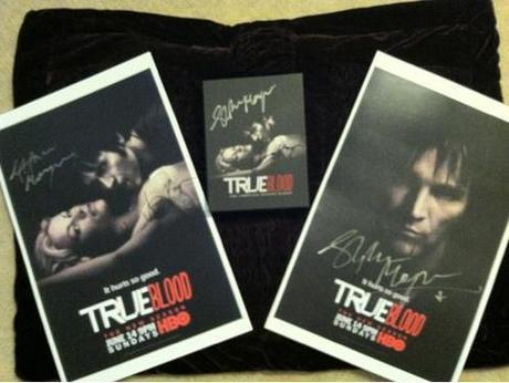 True Blood season 2 goodies signed by Stephen Moyer and Anna Paquin up for auction