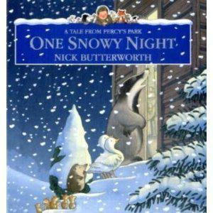 Book Sharing Monday: One Snowy Night