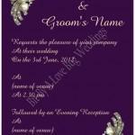 wedding invitation Bit By A Love Bug Weddings