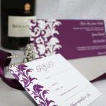 Wedding invitation Bonnie Blackbird