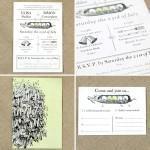 wedding invitation Vintage Designs