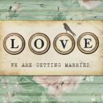 wedding invitation showcase Lucy Ledger