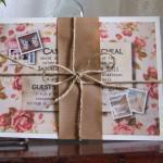wedding invitation showcase Knots and Kisses