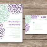 wedding invitation Pink Olive Paperie