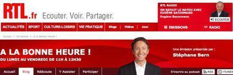 Angela Gheorghiu on Radio RTL, Nov 16 at 11am