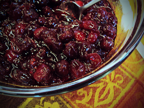 Cranberry sauce perfection
