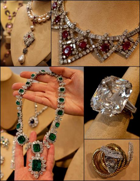 christie s to auction liz taylor jewels online paperblog