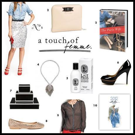 MOOD DU JOUR: A Touch of Femme
