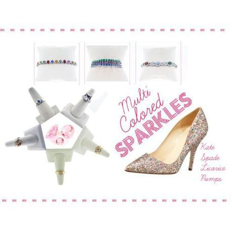 Tuesday Shoesday: Mutli Colored Sparkles