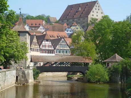 schwaebisch hall bridge tower