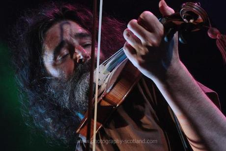 Event photo - Angus Grant playing at the Scots Fiddle Festival