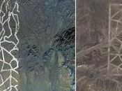 Google Earth Spots Unidentified Structures China's Gobi Desert