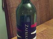 Tuesday Tasting Wednesday): 2011 Zafrika Pinotage