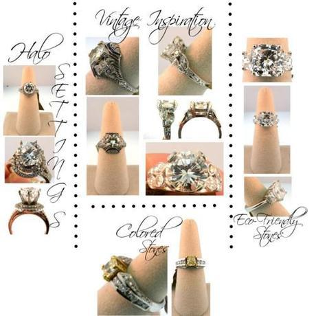 Enagement Ring Trends 2012