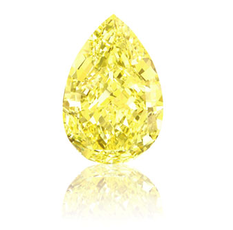 sotheby's, sun drop, yellow diamond