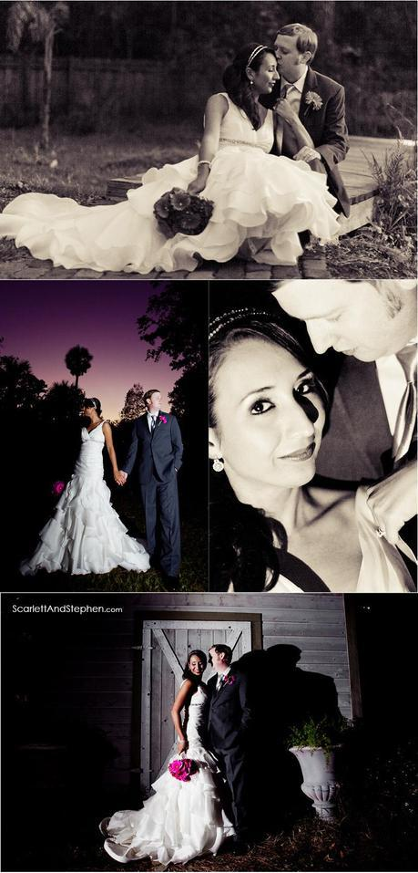 Adrienne & George are married! // Palm Valley Gardens photographer