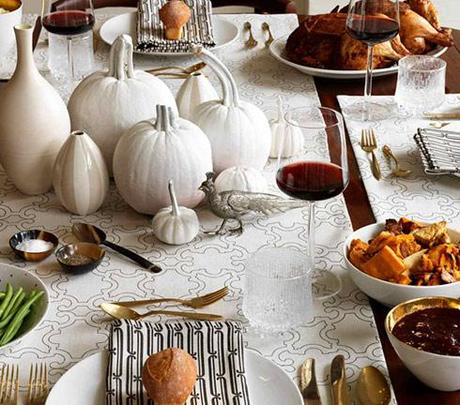 Thanksgiving Table Decorations on Simple But Beautiful Thanksgiving Decorating Ideas      Paperblog