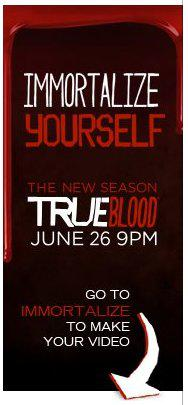 True Blood's Immortalize Yourself Nominated for the Digiday Video Awards
