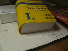German Dictionary -learn german