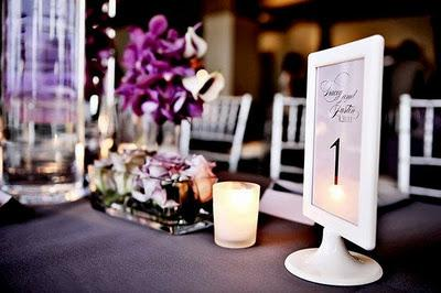 Wedding Table Number Ideas Paperblog