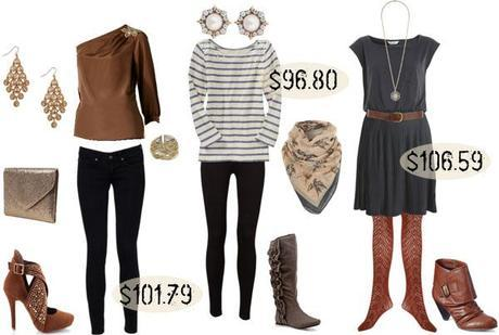 Hundred Dollar Outfits…