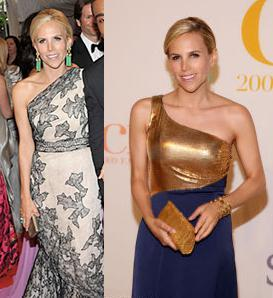 TB Really Loves Her Green EarringsFab Find Friday: Tory Burch at the CFDA