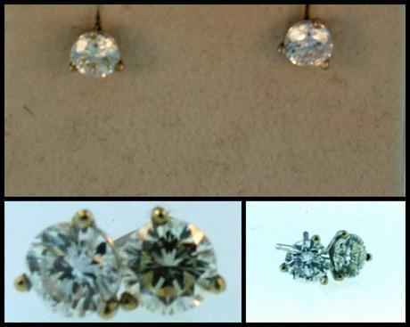 One Week Left to Enter to Win Diamond Earrings!