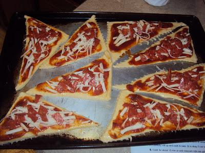 Pizza Crescent Roll Ups