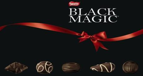 Will Work For Food Black Magic Chocolates And Two Bite