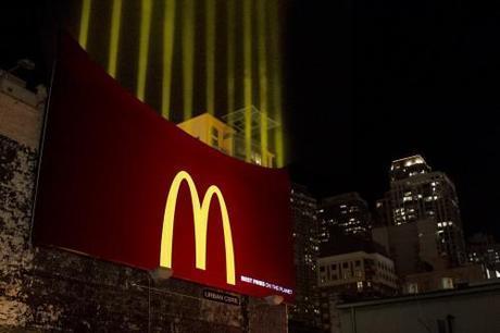 McDonald's Fries Light Up Chicago