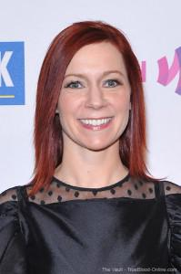 Carrie Preston attends the 10th annual GLAAD OutAuction