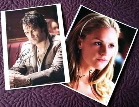 Auction of pics signed by Stephen Moyer & Anna Paquin for a cure for Ankylosing Spondylitis