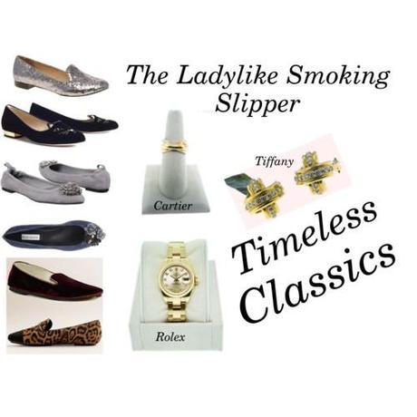 Tuesday Shoesday: The Smoking Slipper