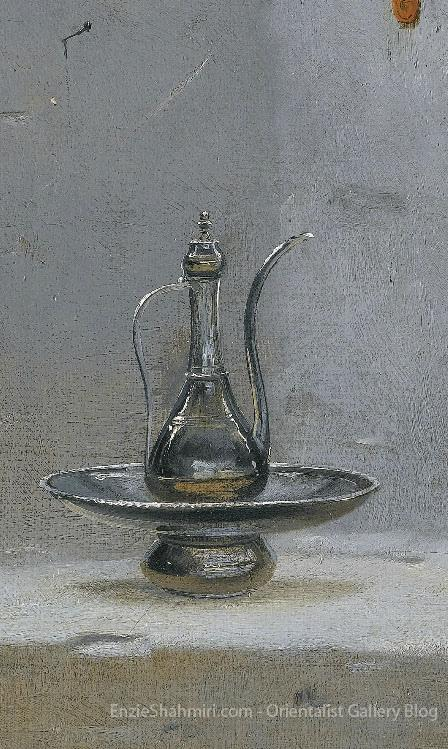 Detail of Making Tea in Algiers
