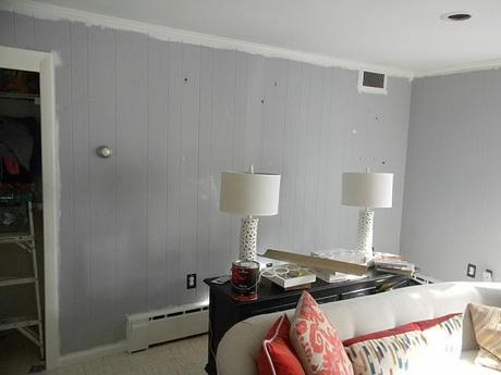 One tip I have is to paint any trim that is against the grasscloth ...