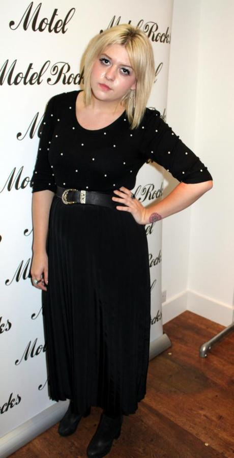 What Scarlett Wore to Motel Bloggers Evening