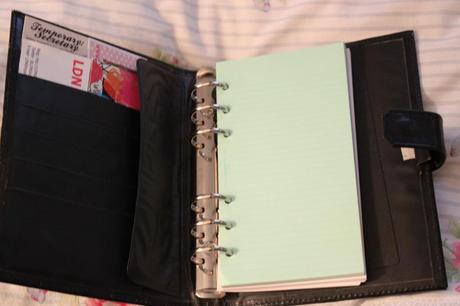 Owning a filofax - the sign of being a grown up