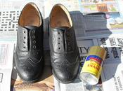 DIY: Gold Brogues