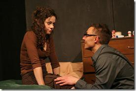 Philip Winston and Cassidy Shea Stirtz in Shelia Callaghan's WE ARE NOT THESE HANDS