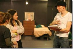 Bries Vannon directs Ariel Begley and Cassidy Shea Stirtz in Sheila Callaghan's WE ARE NOT THESE HANDS