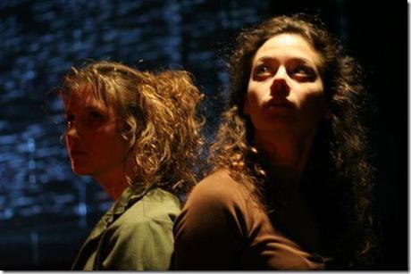 Ariel Begley and Cassidy Shea Stirtz star in Sheila Callaghan's WE ARE NOT THESE HANDS