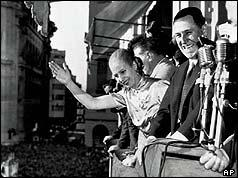 Eva Peron with Husband Expanish Quick Guide to Argentina's Icon: Eva Peron