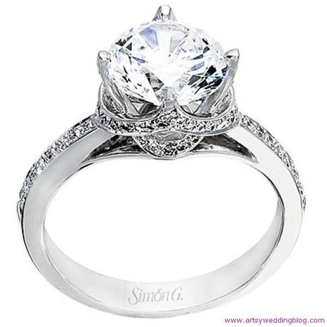 Celebrity Round Engagement Rings