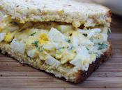 Food: Siracha Cilantro Salad Sandwich.