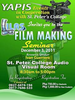 YAPIS|Film Making Seminar in Iligan City