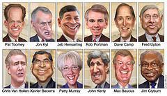 Super Congress / Committee - Member Caricatures