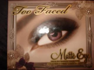 Too Faced Matte Eye Palette-look 1